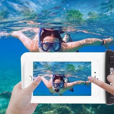 Transparante HAWEEL universeel Waterdicht tas met Lanyard voor iPhone 6 & 6 Plus / 6S & 6S Plus, Samsung Galaxy S6 / S5 / Note 5(transparant)