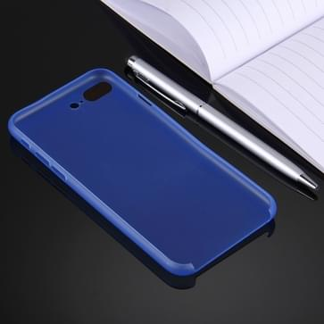 iPhone 7 Plus ultra-dun transparant Polypropyleen back cover Hoesje (blauw)