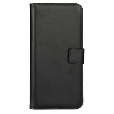 iPhone 7 Plus & 8 Plus horizontaal stijlvol PU leren Flip Hoesje met houder en opbergruimte voor pinpassen & geld (zwart)