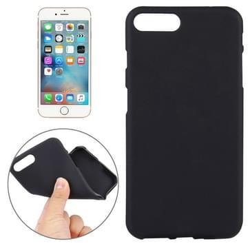 iPhone 7 Plus beschermend TPU back cover Hoesje (zwart)