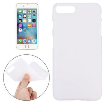 iPhone 7 Plus beschermend TPU back cover Hoesje Wit