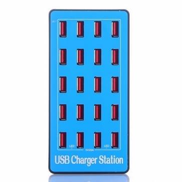100W 20 in 1 multifunctioneel smart USB-oplaadstation