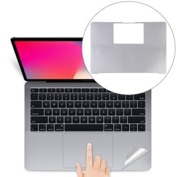 Palm & trackpad beschermer volledige sticker voor MacBook Air 13 (A1932) (zilver)