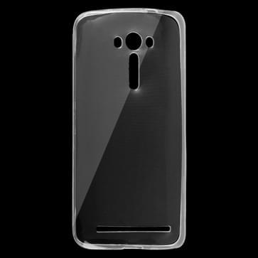 Asus Zenfone 2 Laser / ZE550KL ultra-dun 0.75mm transparant TPU back cover Hoesje
