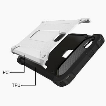 Huawei P9 Lite Tough Armor TPU + PC combinatie Hoesje wit