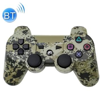 Sneeuwvlok knop Wireless Bluetooth Camouflage Gamepad Game Supervisor voor PS3