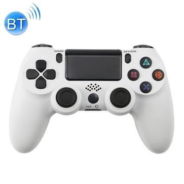 Wireless Bluetooth spel handvat Controller voor PS4 (wit)