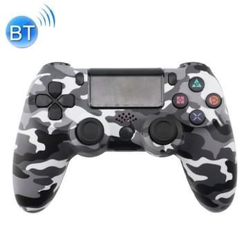 Grijs wit Camouflage draadloze Bluetooth spel handvat Controller voor PS4