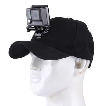 Outdoor Sun Hat Topi Baseball Cap met Camera Stand houder Mount voor GoPro & SJCAM & Xiaomi Xiaoyi Sport Action Camera