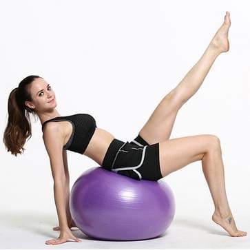 Verdikking van explosieveilige grote Yoga bal Sport Fitness bal milieu zwangere Yoga bal  Diameter: 55cm(Purple)