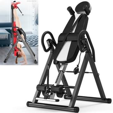 Multifunctionele huishoudelijke Vernekking omgekeerde kraan machine sportuitrusting (zwart wit)