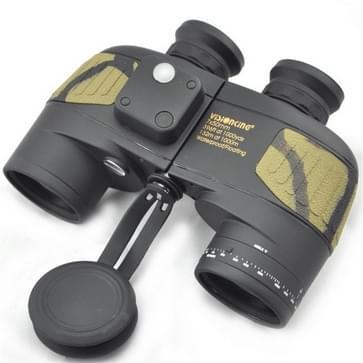 Visionking 7x50 Powerful High Definition Waterproof Nitrogen Rangefinder Compass Binoculars Telescope