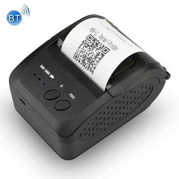 Portable 58mm Thermal Bluetooth Receipt Printer  Support Charging Treasure Charging