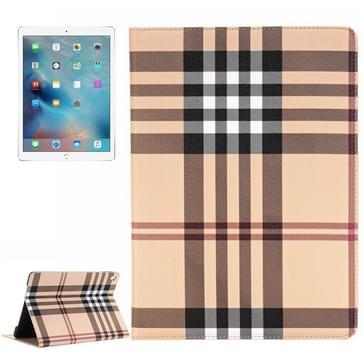 streeps patroon horizontaal Flip lederen hoesje met houder & opbergruimte voor pinpassen & portemonnee voor iPad Pro 9.7 inch