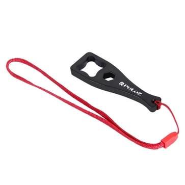 PULUZ Plastic Handschroef sleutel kunt u dagelijks terecht voor Sleutel Veiligheidslijn voor GoPro HERO (2018) 7 / 6 / 5 / 4 / 3+ / 3 / 2 / 1