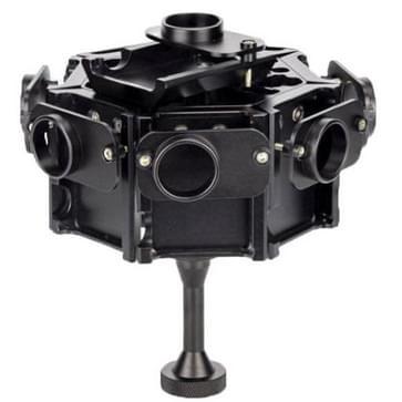 PULUZ 8 in 1 CNC Aluminum Alloy beschermende behuizing met schroeven voor GoPro HERO4 /3+(zwart)