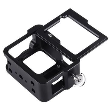 PULUZ behuizing Shell CNC Aluminum Alloy beschermende Cage met veiligheids Frame & 52mm UV Lens voor GoPro HERO5(zwart)