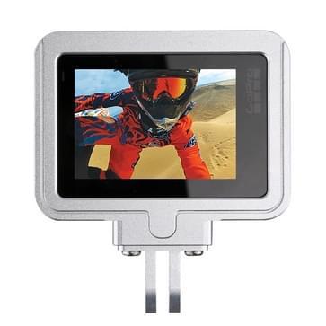 PULUZ behuizing Shell CNC Aluminium Alloy beschermende Cage met beveiligings Frame voor GoPro HERO5(zilver)