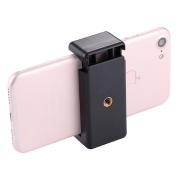 PULUZ Selfie Sticks Tripod Mount Phone Clamp with 1/4 inch Screw Hole for iPhone  Samsung  HTC  Sony  LG and other Smartphones