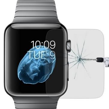 Voor Apple Watch Edition 42mm 42mm wijzerplaat Diameter 9 H + oppervlaktehardheid 2.5D explosieveilige getemperd glas Film