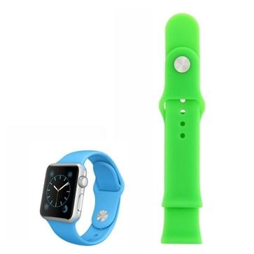 siliconen horlogeband voor Sport horloge 42mm(groen)