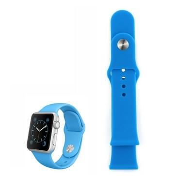 siliconen horlogeband voor Sport Watch 38mm (blauw)