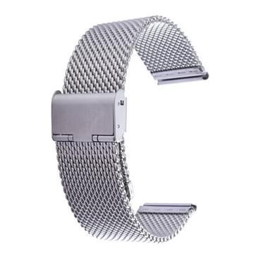 Milanese klassieke Buckle roestvrijstalen horlogeband Vervanging voor Watch 38mm