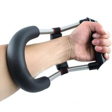 RVS Hand pols kracht Fitness Training uitoefenaar Devices(Black)