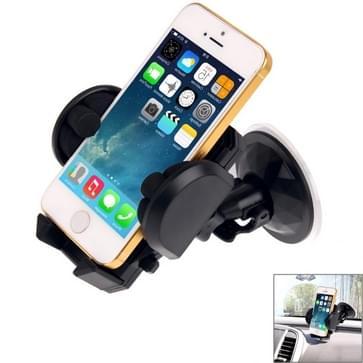 universeel 360 graden draaiend Zuignap auto houder / Desktop staan voor iPhone 5 & 5S & 5C / iPhone 4 & 4S / andere mobiele telefoon / MP4 / PDA, breedte: 3,5 cm - 10cm