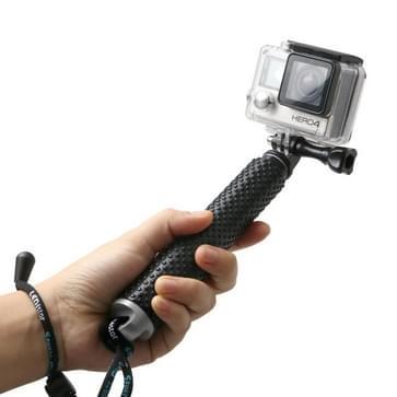 Handheld uitschuifbare Pole Monopod met schroeven voor GoPro HERO4 /3+ /3 /2, Maximale lengte: 49cm(zilver)