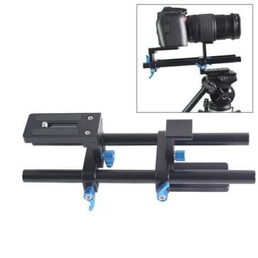 YELANGU YLG1005A 15mm Snelkoppeling Rail Systeem voor DSLR Camera