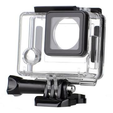 Kanten Open Behuizing Skeleton beschermings hoes / case+ Duimknop + Statief voor Dazzne P2 Sport Camera (S-SV-0020B)