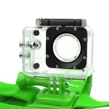 NEOpine GHS-2 Verstelbare hoofdband voor GoPro HERO (2018) 7 / 6 / 5 / 4 / 3+ / 3 / 2 / 1, Xiaomi Yi Sport Camera (groen)