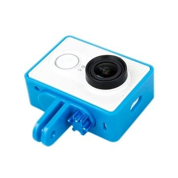 TMC Kunststof Frame / behuizing voor Xiaomi Yi Sport Camera (blauw)