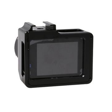 Universeel Aluminum Alloy beschermingshoesje met 40.5mm UV Filter & Lens beschermings Cap voor SJCAM SJ4000 & SJ4000 Wifi & SJ4000+ Wifi & SJ6000 & SJ7000 Sport Action Camera(zwart)