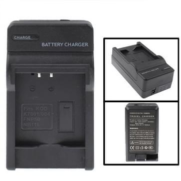 digitale camera batterij / accu laadr voor kod k7001 / k7004 / fuji fnp50 / canon nb - 11l