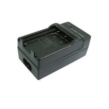 2-in-1 digitale camera batterij / accu laadr voor samsung slb1437