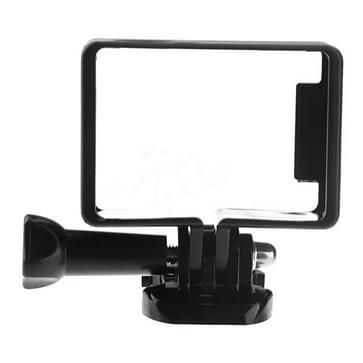 ST-65 beschermings Shell Standaard Frame Houder voor GoPro HD Hero 4 / 3+ / 3 Camera (zwart)