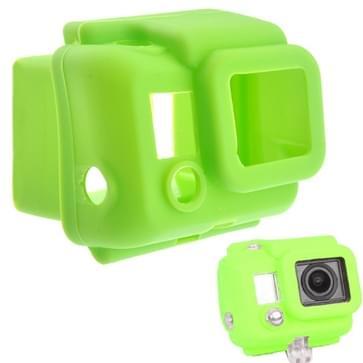 ST-41 beschermings siliconen hoes / case voor Gopro HERO 3 (groen)