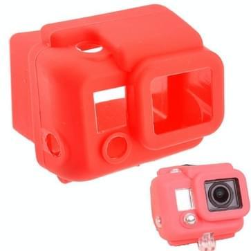ST-41 beschermings siliconen hoes / case voor Gopro HERO 3 (rood)
