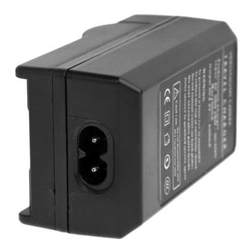 2 In 1 Digitale Camera Batterijlader voor Gopro Hero 2 AHDBT-001 / AHDBT-002 (zwart)