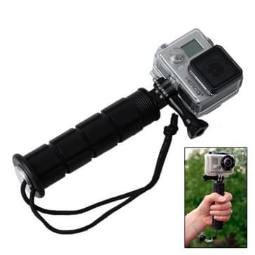 Stabilisator Grip / zelfontspanner Beugel voor GoPro HERO (2018) 7 / 6 / 5 / 4 / 3+ / 3 / 2 / 1, ST-100 (zwart)