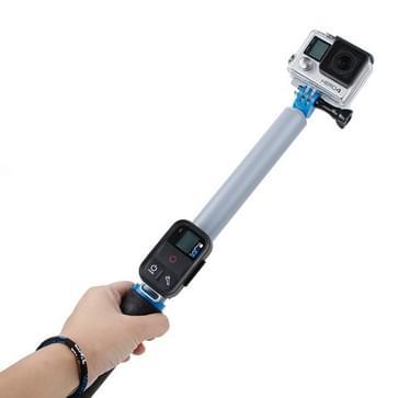 TMC 14-40.5 inch Monopod / selfiestick voor HERO 4/5 SESSION / (2018) 7 / 6 / 5 / 4 / 3+ / 3 / 2 / 1 Xiaomi Yi Sport Camera (grijs)