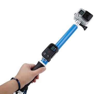 TMC 14-40.5 inch Monopod / selfiestick voor HERO 4/5 SESSION / (2018) 7 / 6 / 5 / 4 / 3+ / 3 / 2 / 1 Xiaomi Yi Sport Camera (blauw)
