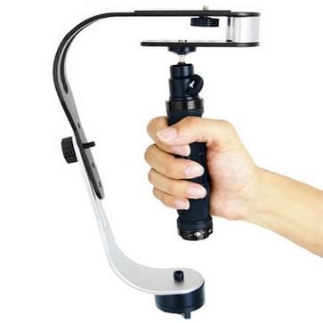 Debo handheld ondersteuning video stabilisator voor dslr camera camcorder  uf-007(zwart)