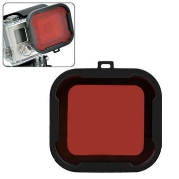 Rood duik filter voor GoPro Hero 4 / 3+ (rood)