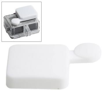 TMC siliconen Stop voor GoPro Hero 4 / 3 +(wit)