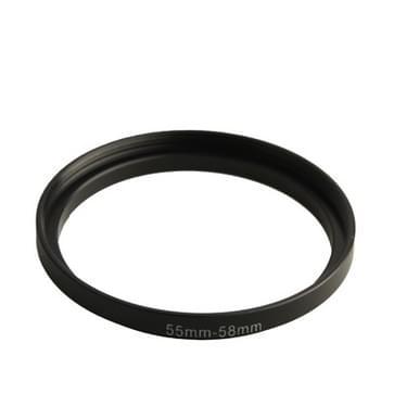 55mm - 58mm lens intensivering van de ring