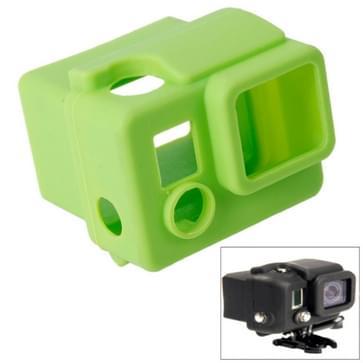 TMC siliconen hoes / case voor GoPro Hero 3+ (groen)