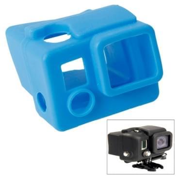 TMC siliconen hoes / case voor GoPro Hero 3+ (blauw)